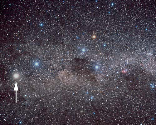 Can i watch proxima centuri from anywhere on the earth ...